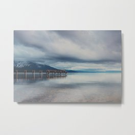 reflections in the water ...  Metal Print