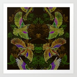 The Birdy Bird Art Print