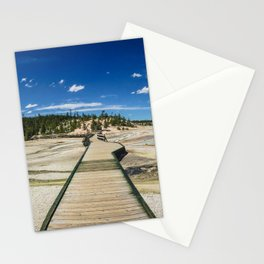 Norris Geyser Basin, Yellowstone National Park Stationery Cards