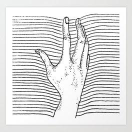 Reach For It Art Print