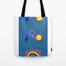 Let's Make Rainbows Tote Bag