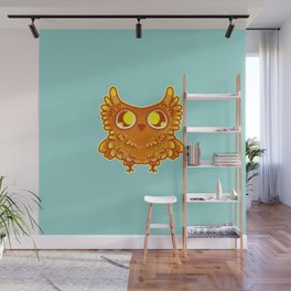 Poot the Hoot Wall Mural