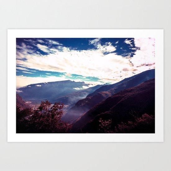 Make It Possible (Purple) Art Print
