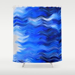 Abstract Composition 285 Shower Curtain
