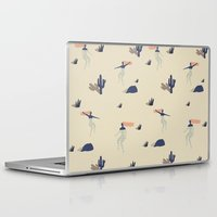 swim Laptop & iPad Skins featuring Dezert swim by .eg.