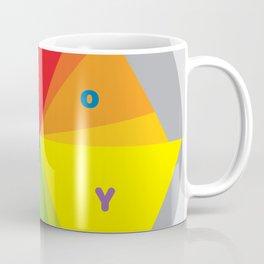 Color wheel by Dennis Weber / Shreddy Studio with special clock version Coffee Mug