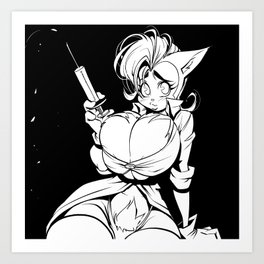 My Dr Pussycat 02 Art Print