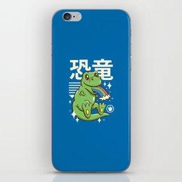 Kawaii T-Rex iPhone Skin
