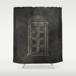 Doctor Who: Tardis Shower Curtain