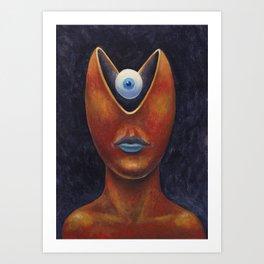 Portrait of a Young Cyclops Art Print