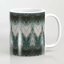 Shades of Green Shibori Coffee Mug