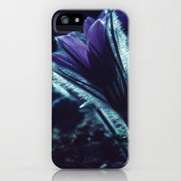 Flower in the Moonlight #2 #Purple iPhone Case