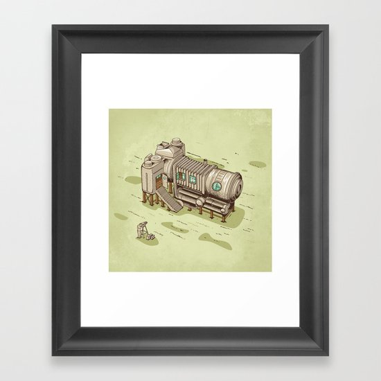 Cam Suite Framed Art Print