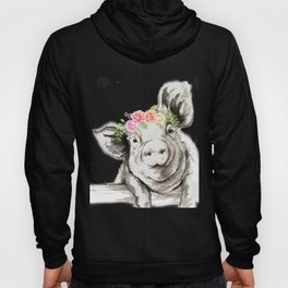 Petunia Pig Hoody
