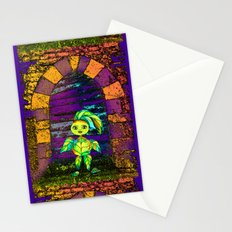 ELVES AT THE DOOR Stationery Cards