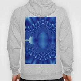 Blue Silk Ribbon Hoody