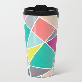 Geometric Spotlights Travel Mug