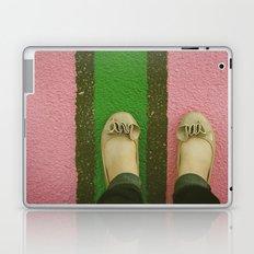 vintage pink & green Laptop & iPad Skin