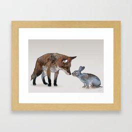 Hues Tones Tints Framed Art Print