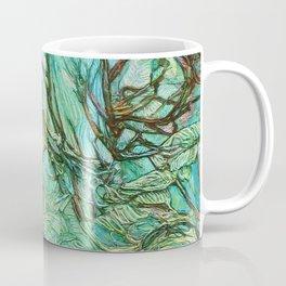 The Aquamarine Labyrinth (detail no. 3) Coffee Mug