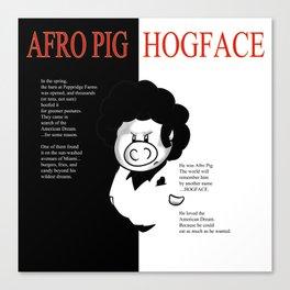 Hogface Canvas Print