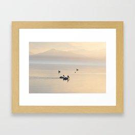 MYSTERIOUS SALTON SEA Framed Art Print