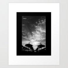 Sky  Explosion Art Print