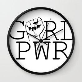 Girl Power & Women Empowerment Wall Clock