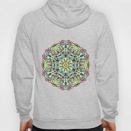 Beautiful Chrystal Glass Mandala Hoody