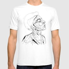 Madeline MEDIUM Mens Fitted Tee White