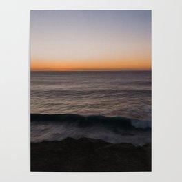 Atlantic Ocean Sunset Poster