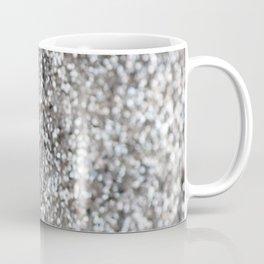 Sparkling SILVER Lady Glitter #1 #decor #art #society6 Coffee Mug