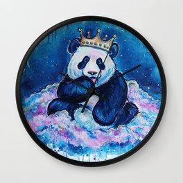 Panda Dreamin' Wall Clock