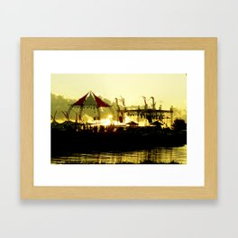 Sun Dance Framed Art Print