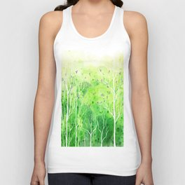 Beautiful Forest Unisex Tank Top