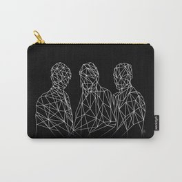 MARTIANS - black. Carry-All Pouch