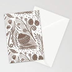 California Quail (Cocoa) Stationery Cards
