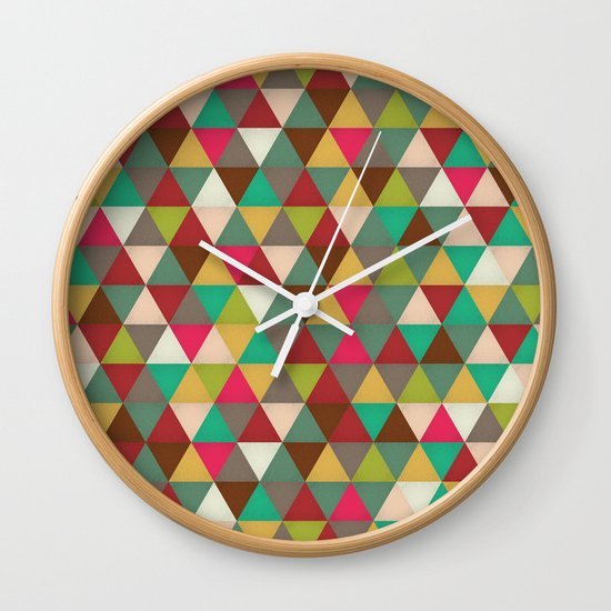 Midsummer Gallivant  Wall Clock