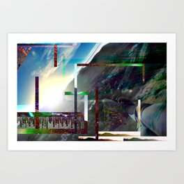 What I See Art Print