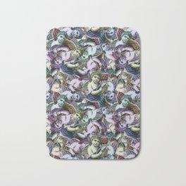 Renaissance Cherub Toss in Jewel Tones Bath Mat