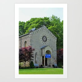Mother of Sorrows Catholic Church (vertical) Art Print