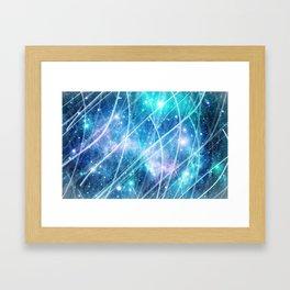 Gundam Retro Space 3 - No text Framed Art Print