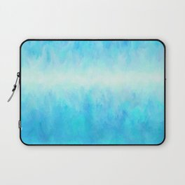Crystal Clear Skies, Light Abstract Laptop Sleeve