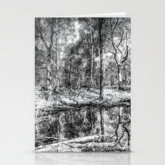 The Forest Pond Stationery Cards