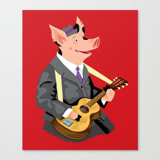 Smokey Hog Mcghee Canvas Print