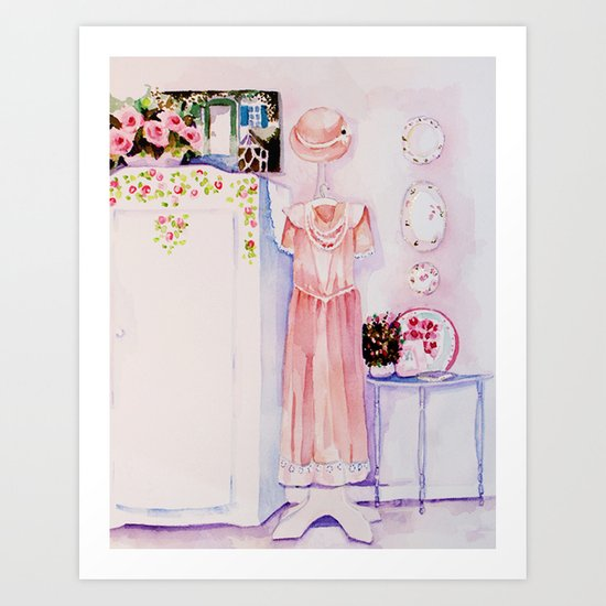 A pretty room Art Print