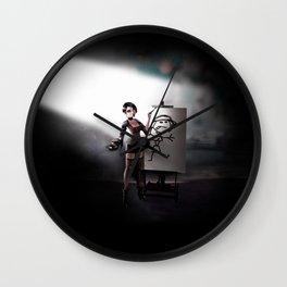 Antagonism Wall Clock