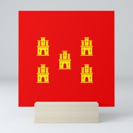 flag of Poitou Mini Art Print