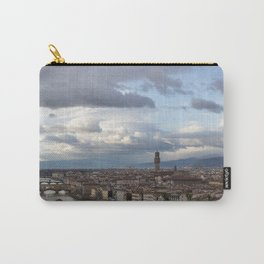Arno and Ponte Vecchio in Florence Italy Carry-All Pouch