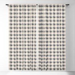 ANTHOLOGY OF PATTERN SEVILLE GINGHAM BLACK Blackout Curtain